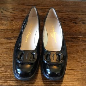 Salvatore Ferragamo Patent Leather Flats